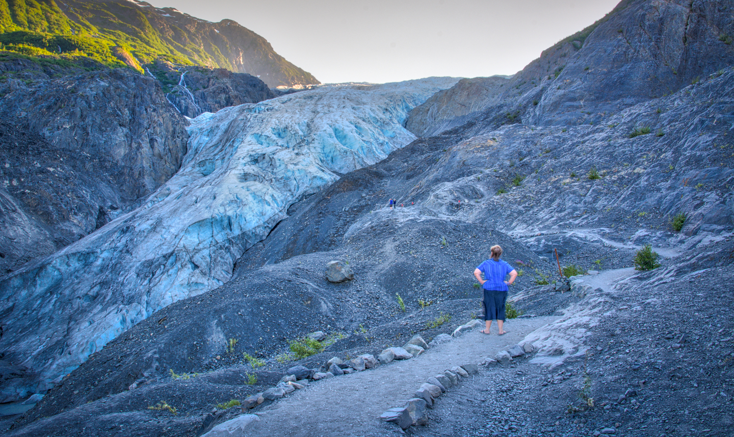 exit glacier and resurrection river day 33 34 july 20 21 don