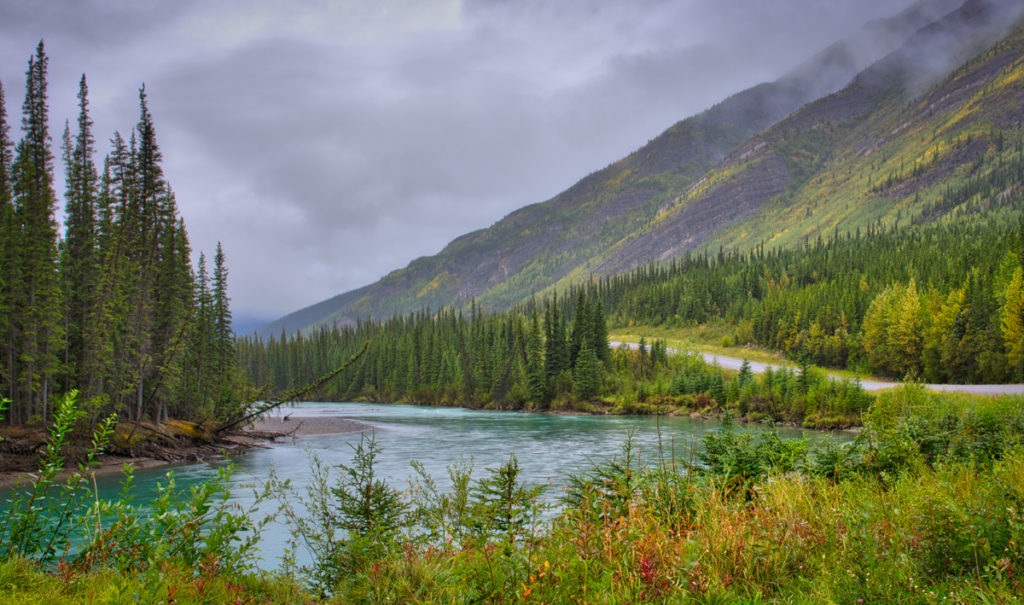 alaska-highway-through-the-northern-rockies