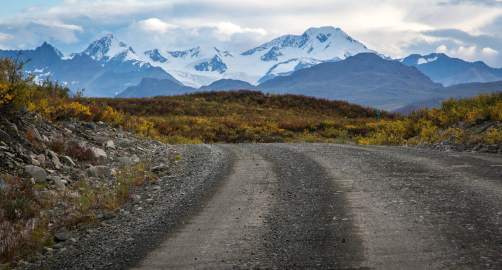 the denali highway close